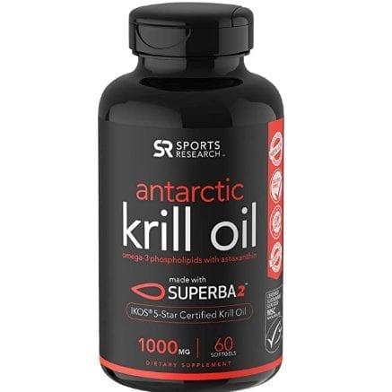Antarctic Krill Oil (Double Strength)