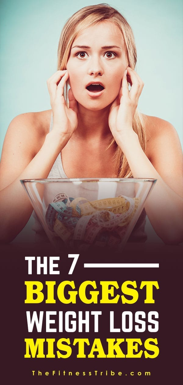 Losing weight is hard. It is easy to get tired and distracted. In order to improve your chances of success don't fall victim to these seven big weight loss mistakes.