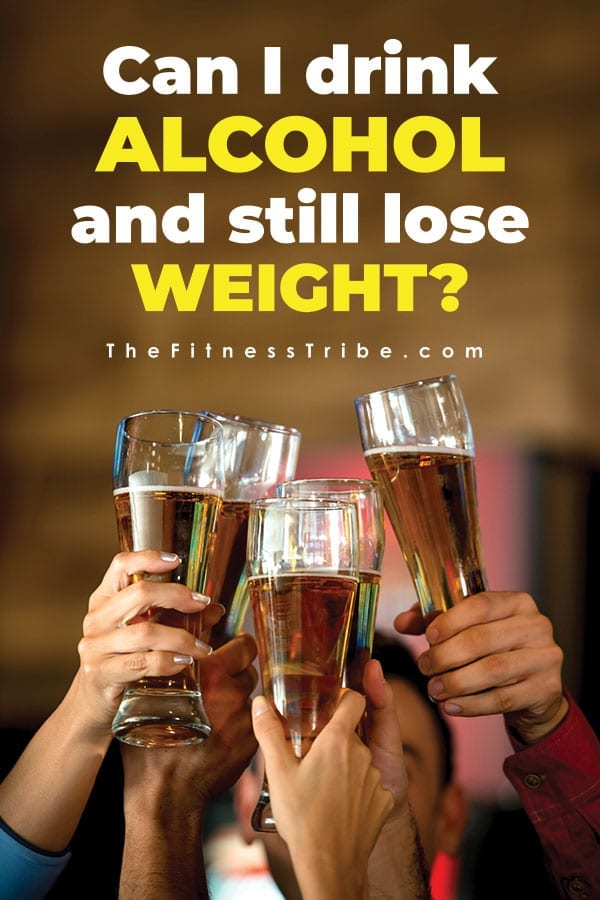 Alcohol is one of the most common vices that causes people to break their diets. Let's discuss if you can enjoy a couple cocktail and still lose weight.