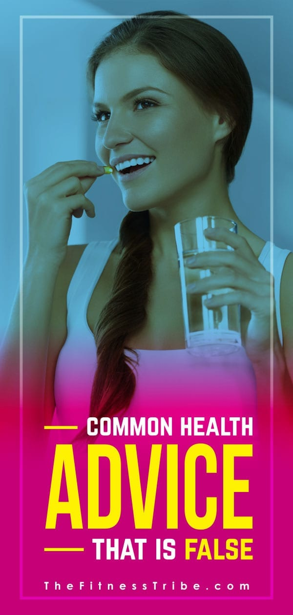There is a ton of conflicting health and fitness advice floating around. Let's debunk a few common health topics that you may have thought to be true, but are actually false!