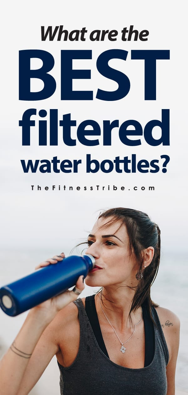 What's the deal with filtered water bottles? Do you think you might be inclined to drink more water if you always had clean cold water with you? Let's talk about filtered water bottles and give you a few good options.