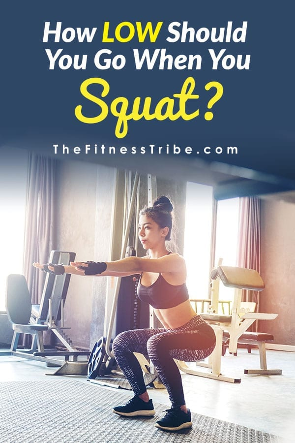 Some say squat as low as you can go, others say only until your thighs are parallel to the floor. Below we will go over different squat variations.