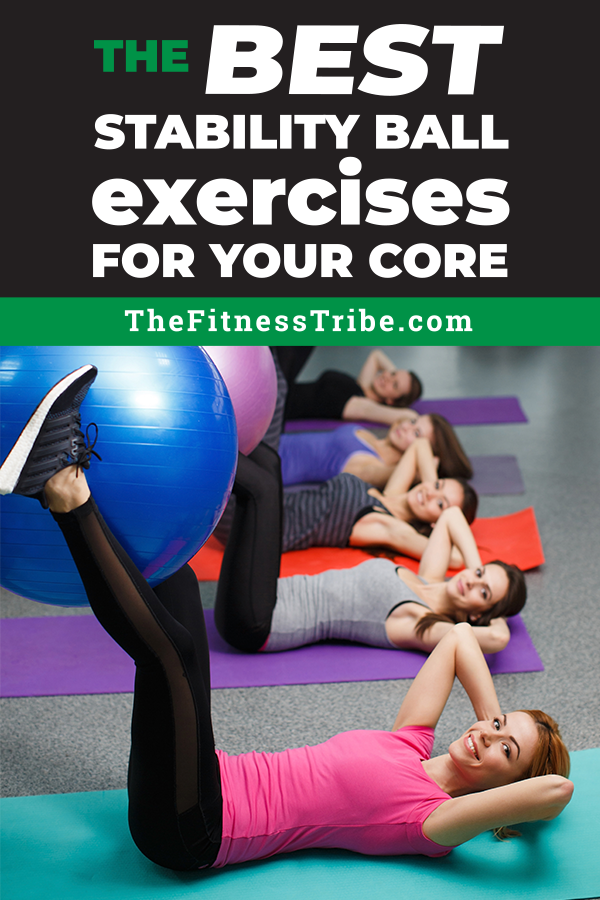 Using an exercise ball greatly increases the difficulty of core stability exercises. Let's explore a few of the most effective moves you can do with the ball for a rock solid core.