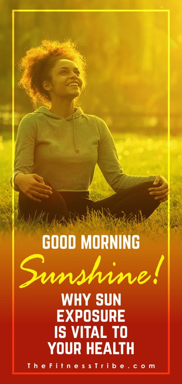New research shows how powerful the sun can be in regards to improving your health and overall well being.