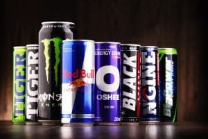 Energy Drinks In Cans