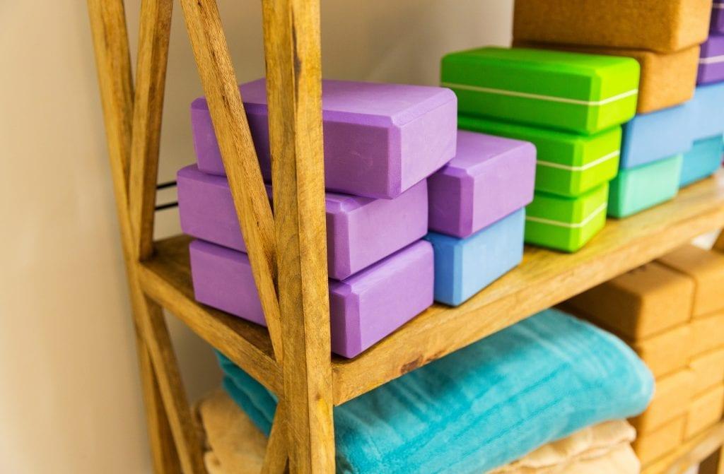yoga foam blocks