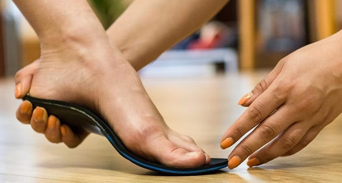 Trying Insoles