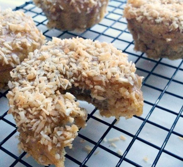 Breakfast Toasted Coconut Donuts