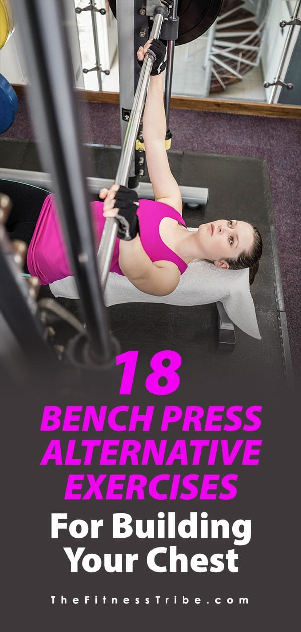 Don't be that person that defaults to bench pressing all the time. Check out these great chest exercises that will help you get off the bench press and mix up your routine!