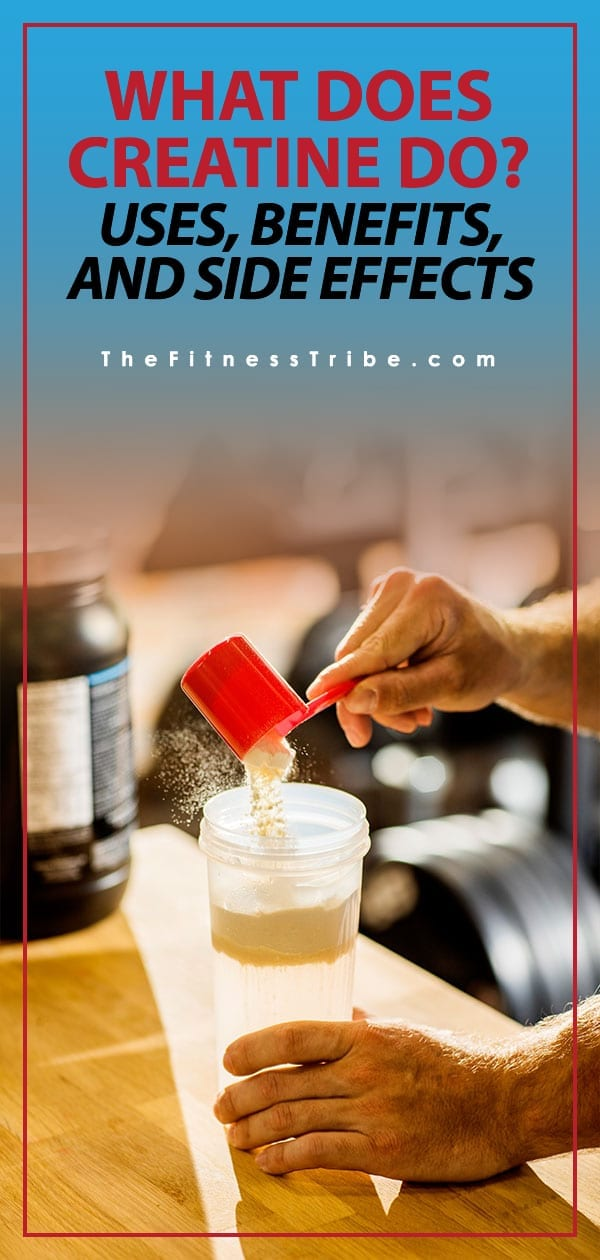 In the early days creatine was surrounded with negative connotations, simply because not a lot of research had been done. Now there is plenty of studies that show creatine is very safe, and highly effective.​