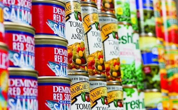 Food In Cans