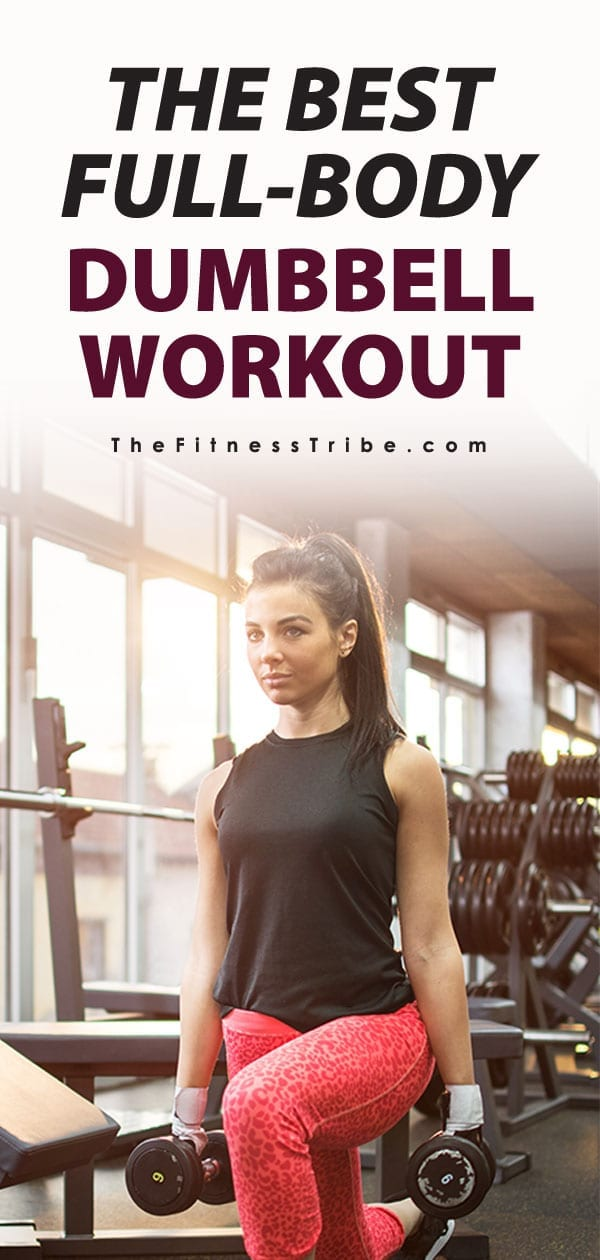 Want to keep your workouts simple and not have to wait for machines at the gym? Just grab a couple dumbbells and practice all these exercises, you'll be sure to get a great full-body workout.