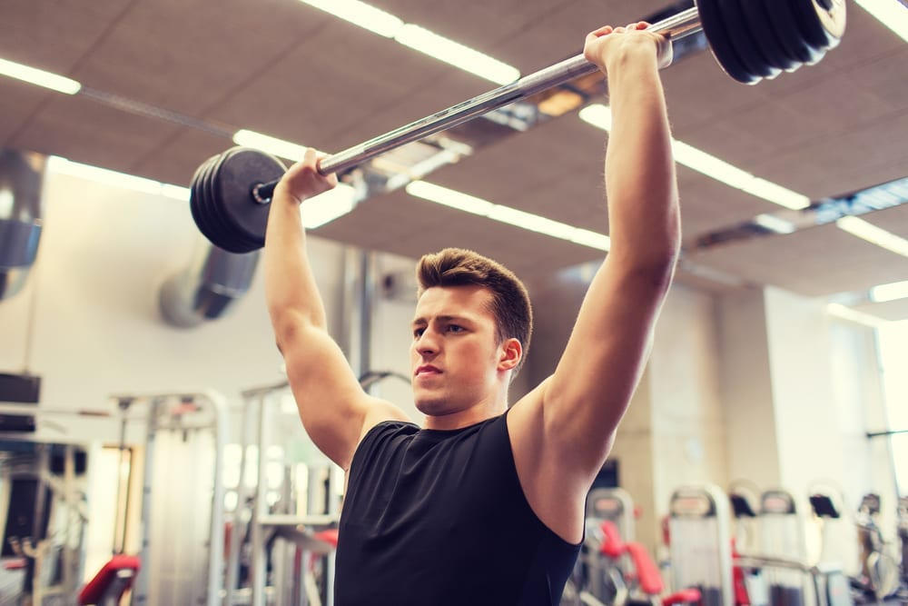 Seated Barbell Military Press: Strong Shoulders Workout | The