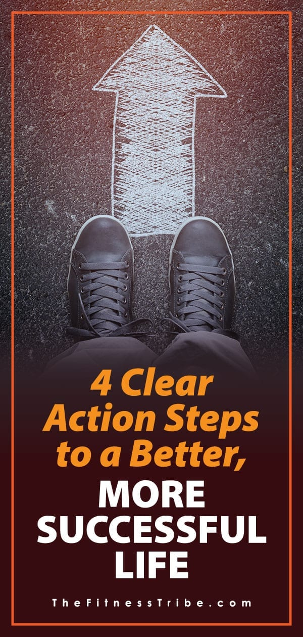 We all have goals and ambitions, but it is easy to get stuck sometimes. Here are 4 simple things you can do to stay on track and improve the quality of your life.