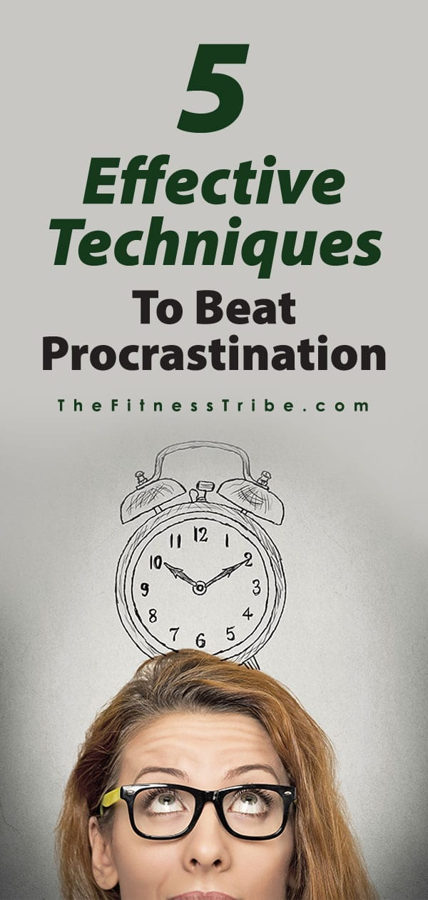 Procrastination... it's so common and always so tempting. We all know that avoiding this bad habit is key to getting things done and accomplishing goals, so here are a few techniques to beat procrastination.