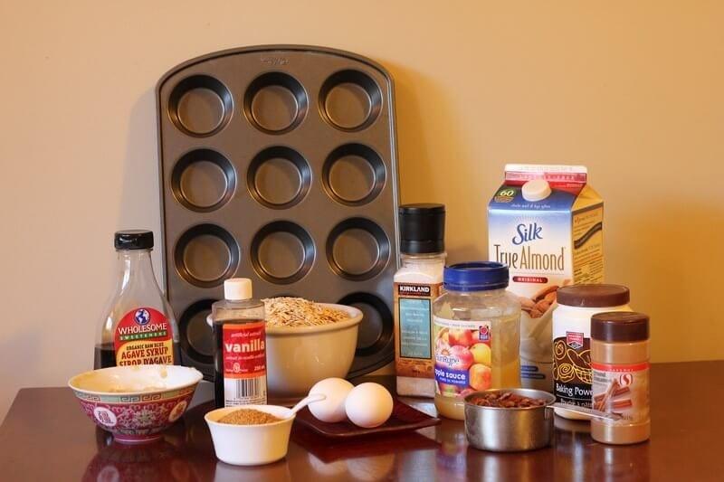 Sugar Free Breakfast Muffins Ingredients