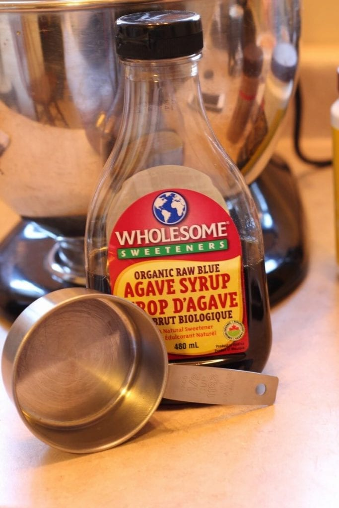 Agave Syrup In The Bottle