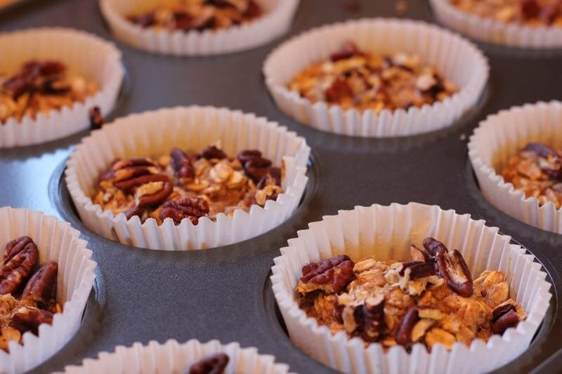 Walnuts Topped Muffins