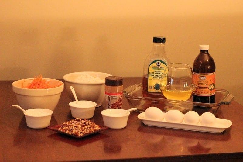 Sugar Free Carrot Cake Ingredients