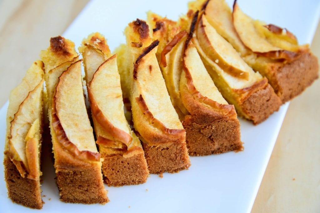 Served Sugar Free Apple Cake
