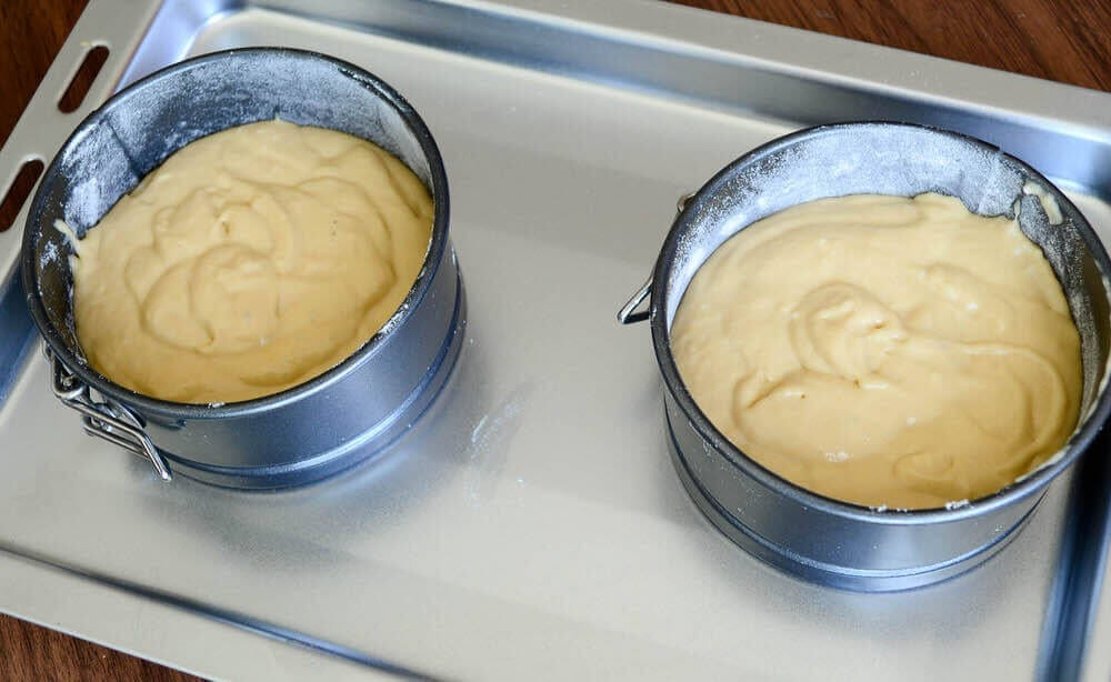 Cake Mix In The Pan