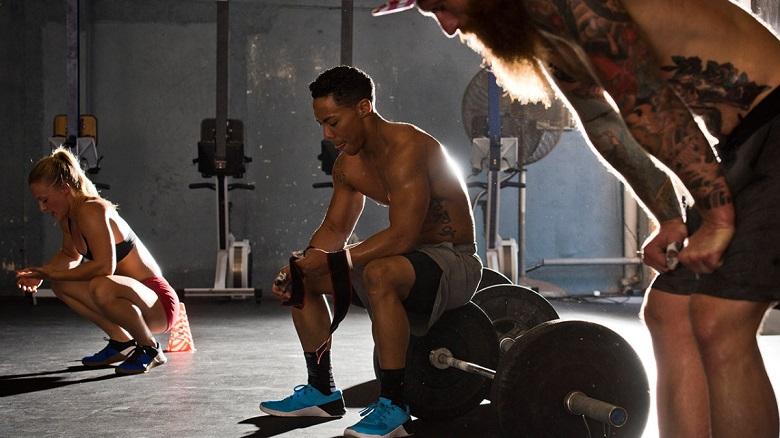 gym workout rest