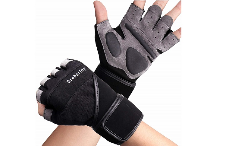 Grebarley Workout Gloves,Gym Gloves,Training Gloves with Wrist Support Review