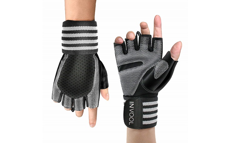 Invool Gym Training gloves with Wrist Support Review