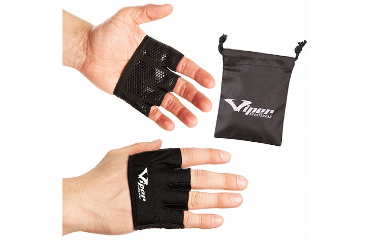 ViperSportsWear Crossfit Gloves Fingerless Hand Grips Review